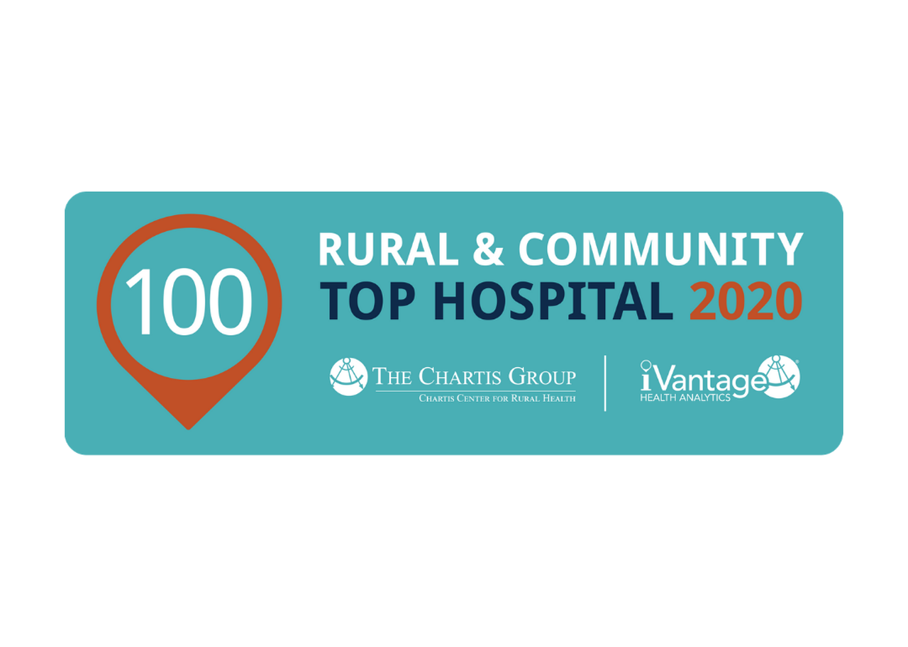 Top 100 Rural & Community Hospital for 2nd straight year!