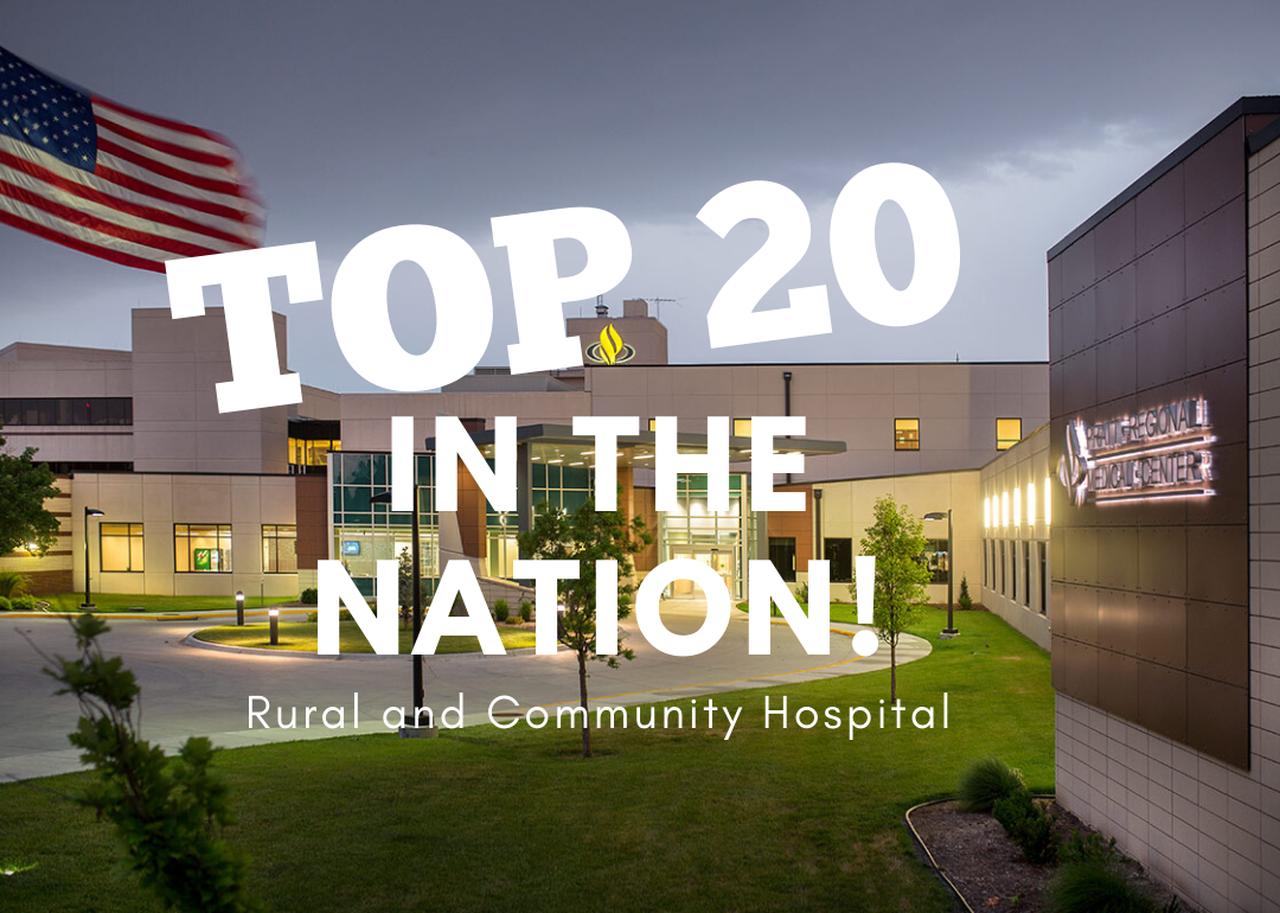 PRMC named Top 20 Hospital by NRHA